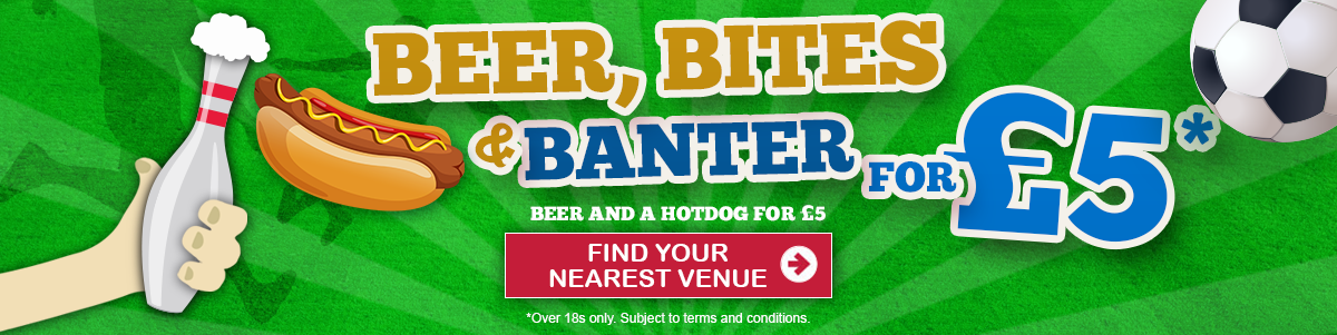 Beer, Bites &amp&#59; Banter